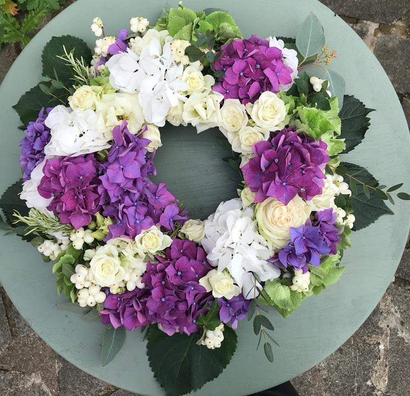 Bespoke-Wreaths-Hydrangeas