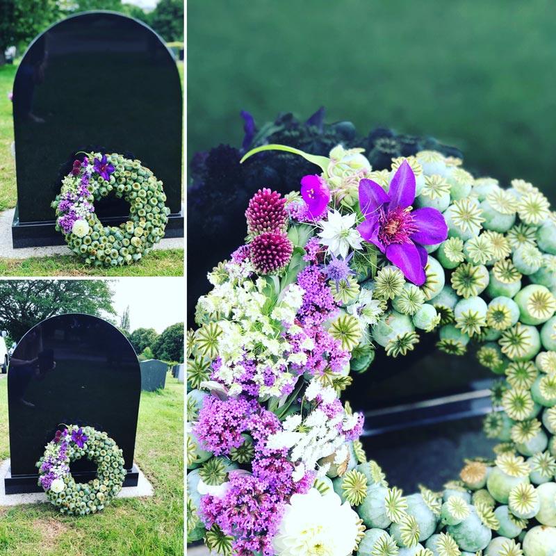 Bespoke-Wreaths-Poppy-Seeds-Purple