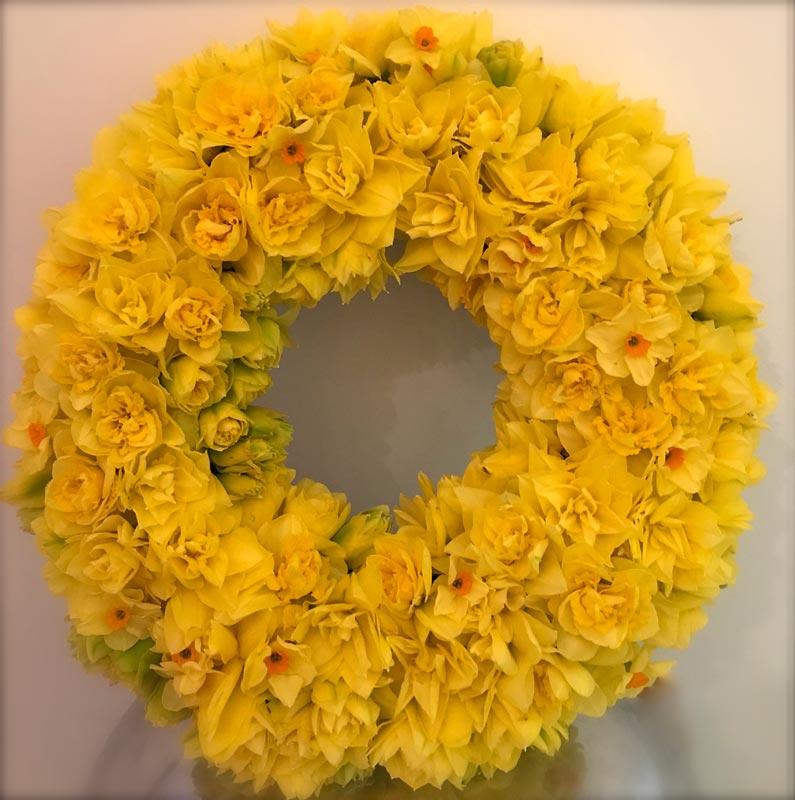 Bespoke-Wreaths-Spring-Daffadils