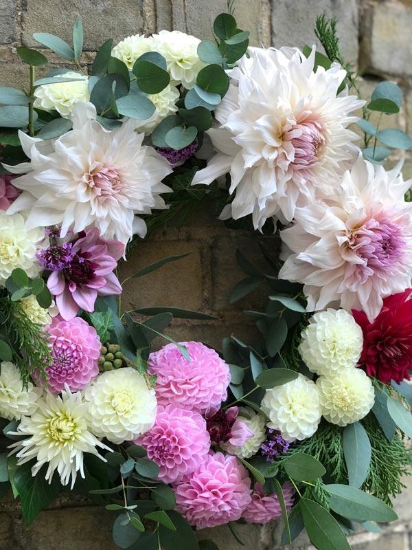 Bespoke-Wreaths-Summer-Dahlias